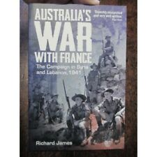 Book About Australia's War With France in Syria WW2 Vichy French New Book
