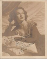 HEDY LAMARR 'ECSTASY 1933' HAND SIGNED AUTOGRAPHED 8x10 PHOTO