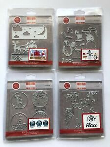 First edition Christmas Sentiments Dies  4 DIFFERENT DIE SETS