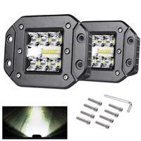 """2x5""""Arbeitsscheinwerfer LED Offroad Unterputz Nebelscheinwerfer für Auto KFZ SUV"""
