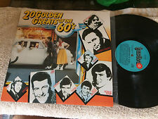 "20 GOLDEN GREATS OF THE 60'S VARIOUS VINYL LP RECORD 12"""