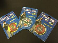 1989#ERTL Force One3x LOT  Flite Gear Combat Patch # NEW OLD STOCK [AP]