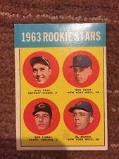 1963 TOPPS ROOKIE STARS #558 GOOD CONDITION RON HUNT FAUL LIPSKI AL MORAN