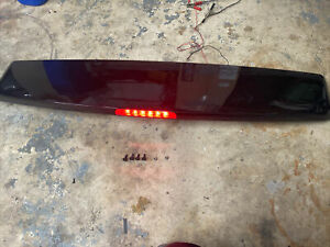 11-16  DODGE GRAND CARAVAN TOWN & COUNTRY REAR TRUNK TAILGATE SPOILER BLACK