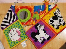 Lamaze Baby Cot / Floor Toy Bright Animals Mirror