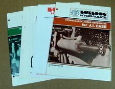 Bulldog Hydraulics Manual Guides J.I. Case John Deere Caterpillar Parts Lot