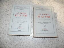 1932.Le rouge et le noir.2/2..Stendhal.Martineau