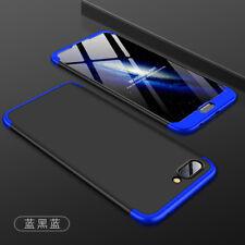 360° Full Cover Hard Case for Huawei Honor 10/8/ 9 Lite Shell+Tempred Glass Film