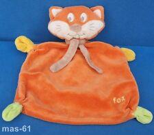 BABY-CLUB KATZE FUCHS SCHMUSETUCH KUSCHELTUCH  ORANGE CAT FOX C & A