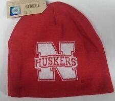 Nebraska Cornhuskers Knit Beanie Toque Winter Hat skull cap NCAA - Hype Huskers