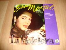 SARA MONTIEL LA VIOLETERA SINGLE DE VINILO VINYL DEL AÑO 1958 CON 4 TEMAS