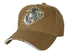 Rothco 9827 Low Profile Cap / Globe & Anchor - Coyote