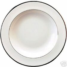 Wedgwood Sterling  Rim Soup Plate ;  NEW