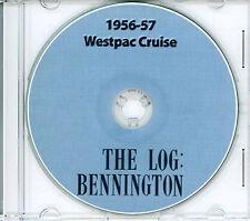 USS Bennington CVA 20 Westpac CRUISE BOOK Log 1956 - 1957 CD