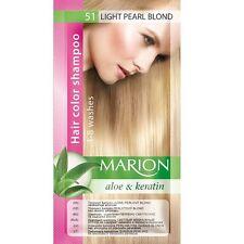 Marion Hair color shampoo sachet (lasting 4-8 washes) Aloe & Keratin 24 colors