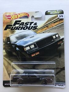 HOT WHEELS 2020 87 BUICK GRAND NATIONAL GNX MOTOR CITY MUSCLE FAST AND FURIOUS