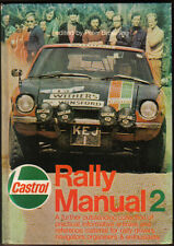 Castrol Rally Manual No. 2 1972  Practical advice, car specs, drivers, results +