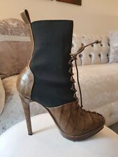 DONNA KARAN BERGAMOT BOOT EU 36.5, UK 3.5, RETAIL £882