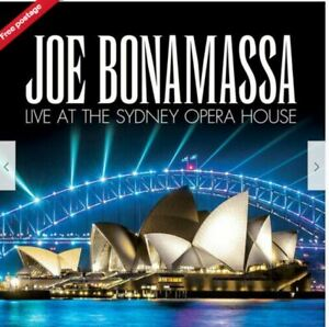 Joe Bonamassa : Live at the Sydney Opera House CD BRAND NEW AND SEALED