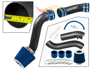 BCP RW BLUE 90-95 Thunderbird 3.8L V6 Supercharged Cold Air Intake Kit + Filter