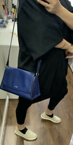 DKNY Blue Shoulder Bag Handbag