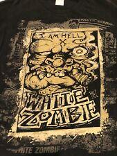 New listing Vintage White Zombie T shirt