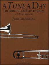 A Tune A Day for Trombone or Euphonium Treble Clef Book 1 Learn to Play Method