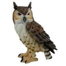 Natural World Collection Small Eagle Owl Ornament Wb61475