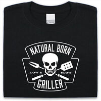 Natural born griller T-Shirt Mens Womens Funny gift Present bbq