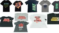 Nike Little Boys Short Sleeves Graphic Tee Shirt New