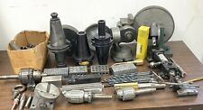 LARGE LOT OF MACHINIST TOOLS - GRINDING FIXTURES  - DIAMOND GRINDING WHEELS