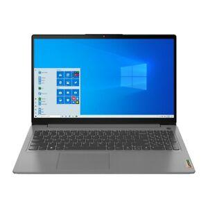 NIB Lenovo IdeaPad 3 Notebook 15.6-in/Pentium Gold/4GB RAM/256GB SSD/Win 10/Gray
