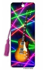 3D Bookmark Electric Classical Guitar Player Music Musician Lover Gifts Him Her