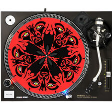 Portable Products Dj Turntable Slipmat 12 inch - Devil Inside