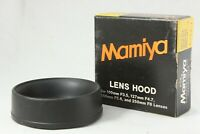 【MINT】Mamiya Press Rubber Lens Hood for 100mm , 127mm , 150mm , 250mm from JAPAN