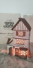 "Dept.56 Dickens Village Series #5926-9 ""Poulterer"" -1988 - Lighted- Mib- Retired"