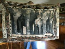 "52""x33""  Home Decor Wall Hanging Tapestry, ELEPHANTS"