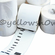 1 Roll 99013 DYMO Compatible Clear Transparent Labels 36 x 89mm S0722410 (260pr)