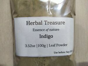 Pure Organic Indigo Leaf Powder | Indigofera tinctoria | hair color