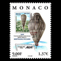 Monaco 2000 - Non-Stop Balloon Circumnavigation of the Globe - Sc 2195 MNH