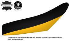 YELLOW & BLACK CUSTOM FITS HUSABERG FE450E 02-08 DUAL LEATHER SEAT COVER