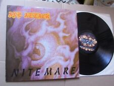 GUITAR PETE´S AXE ATTACK,NITEMARE lp m-/vg+ napalm/lsr records FLAME003 USA