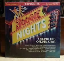 Boogie Nights 18 Top Disco Hits Vinyl LP