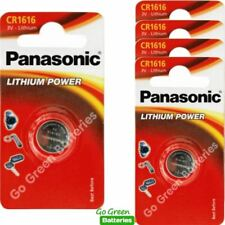 5 x Panasonic CR1616 3V Lithium Coin Cell Battery 1616 DL1616 BR1616 2028 EXP
