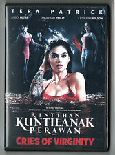 CRIES OF VIRGINITY (2010) Tera Patrick Indonesian HorrorRarity DVD w/English sub