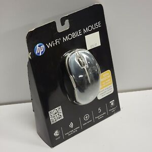 Windows 7 - HP Wi-Fi Wireless Mobile Black/Silver Total Freedom Mouse - READ...