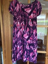 Jigsaw Pink/Purple Patterned dress