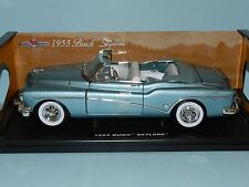 1953 Buick Skylark Convertible Collector Car 1 18 Red Motormax Toy Die Cast