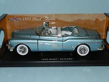 Motor Max 1/18 1953 Buick Skylark  Metallic Blue MIB