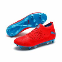 Puma Future 19.2 Netfit Mx SG Soft Ground Mens Football Soccer Boots Cleats Red